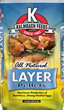 Kalmbach All Natural 16% Layer Pellets 50 Lb.