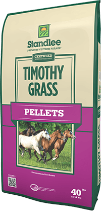 Certified Timothy Grass Pellets 40 Lb.