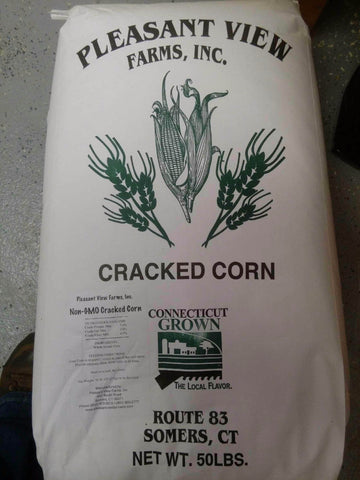 Pleasant View Non GMO CT Grown Cracked Corn 50 lb