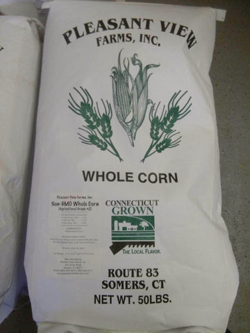 Pleasant View Non GMO CT Grown Whole Corn 50 lb