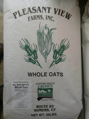 Pleasant View Non GMO CT Grown Whole Oats 50 lb