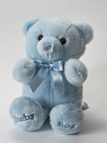 Baby Boy Bear- Blue