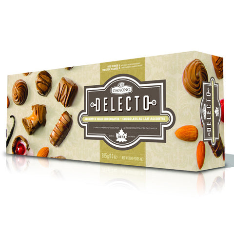 Ganong Delecto Assorted Milk Chocolate 285g