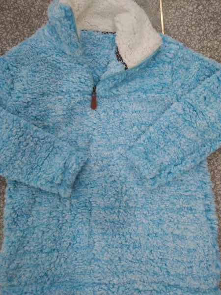 Blue Sherpa Pullovers L/XL only