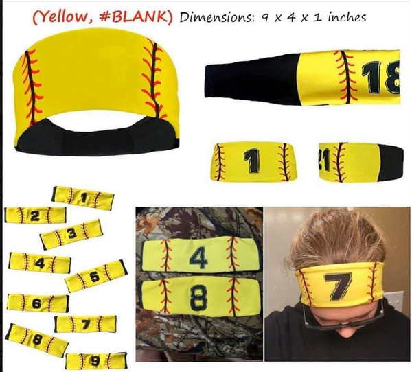 Sports Headbands - Clearance Was $6 each, NOW $4 each
