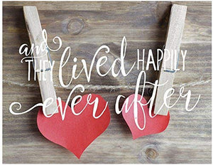 Light Box Insert Happily Ever After