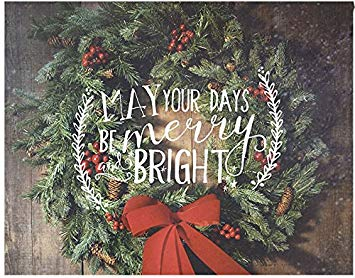 Light Box Insert Merry and Bright