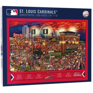 St. Louis Cardinals Find Joe Journeyman Puzzle - 500 pieces