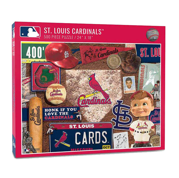St. Louis Cardinals Retro Puzzle - 500 Pieces