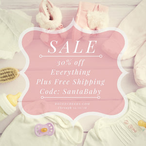 RozeeCheeks Baby Holiday Shop Sale