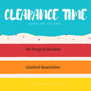 End of Season Clearance Time!