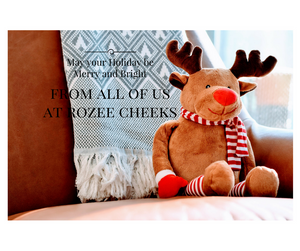 Merry Christmas and Happy Holidays From RozeeCheeks