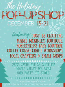 Maple Valley Local Boutique & Artisan Holiday Pop-Shop