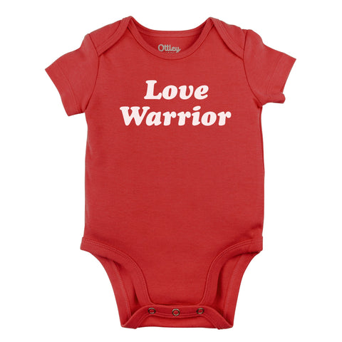 Love Warrior Bodysuit| Red