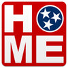 Home Tennessee Tri Star 4 Inch Decal