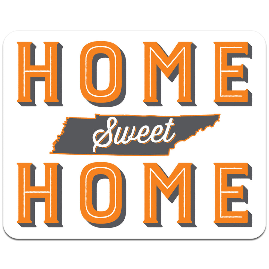 Home Sweet Home Tennessee 4 Inch Decal