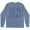 Clearance Adult Hollow TN on a Long Sleeve Blue Jean T-Shirt