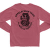 Adult Appalachian Trail Tennessee on a Long Sleeve Brick T-Shirt