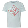 Kids Camp TN on a Ice Blue T-Shirt