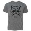 Kids Raccoon State Wild Animal on a Premium Heather T-Shirt