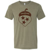 Clearance Adult The Volunteer State Acorn on a Heather Olive T-Shirt