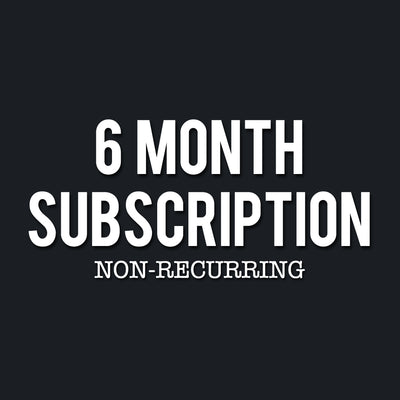 6 Month Tennessee T-Shirt Gift Subscription