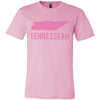 Adult Tennessean on a Pink T-Shirt