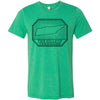 Adult Hills of Tennessee on a Heather Kelly T-Shirt