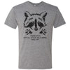 Adult Raccoon State Wild Animal on a Premium Heather T-Shirt