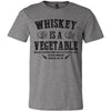 Adult Tennessee Whiskey Is A Vegetable on a Deep Heather T-Shirt