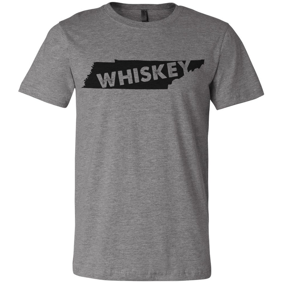 Adult Tennessee Whiskey on a Deep Heather T-Shirt