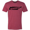 Clearance Adult Tennessee Whiskey on a Cardinal T-Shirt