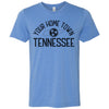 Adult T-Shirt Customized With Your Home Town Tennessee