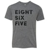Kids Eight Six Five 865 Area Code T-Shirt Grey