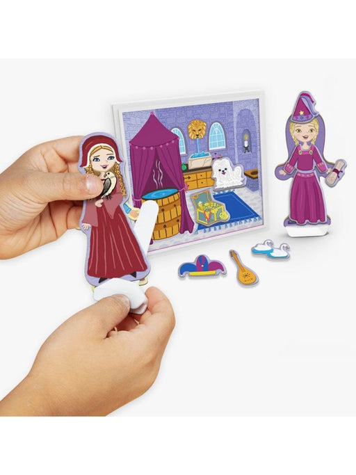 Melissa & Doug Magnetivity Magnetic Building Play Set - Medieval Castle