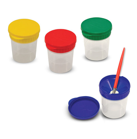 Melissa & Doug Spill Proof Paint Cups-Set of 4