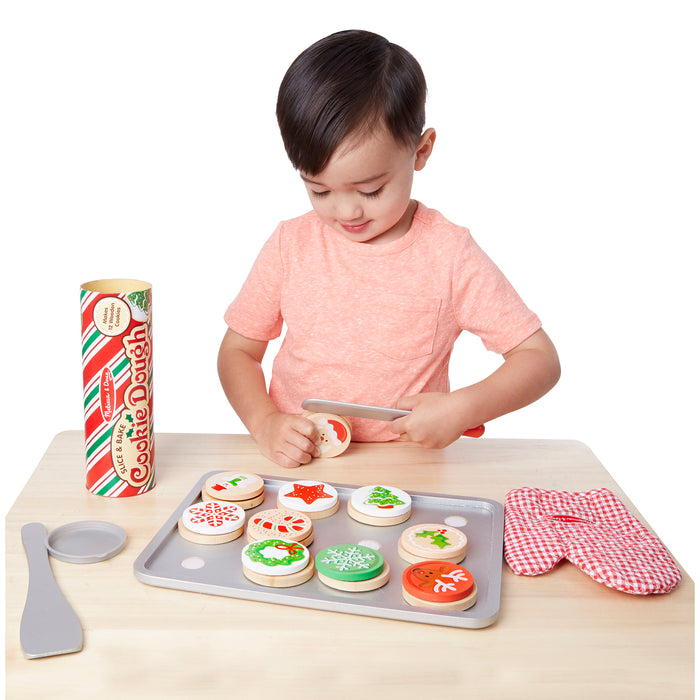 Melissa & Doug Slice & Bake Christmas Cookie Set