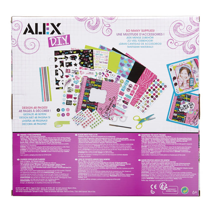 Alex Friends 4 Ever Scrapbook