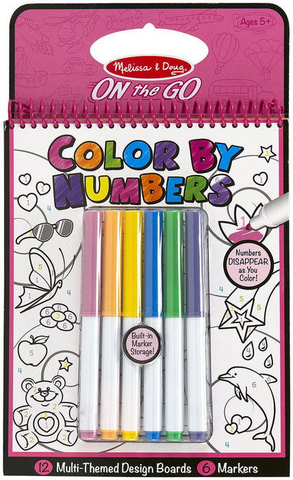 Melissa & Doug Color By Numbers (Pink)