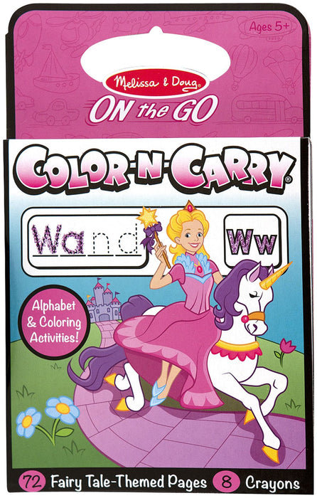 Melissa & Doug Color-N-Carry-Fairy Tale