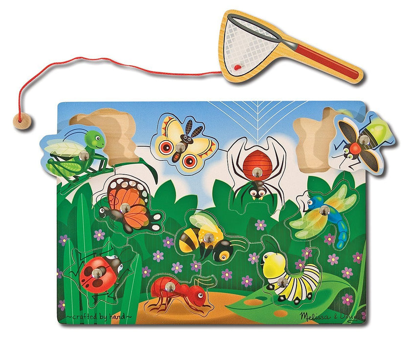 Melissa & Doug Bug Catching Puzzle Magnetic Games