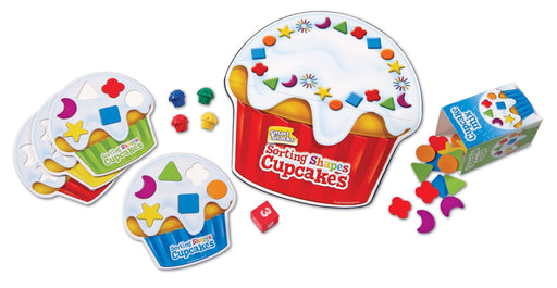 Learning Resources Sorting Shapes Cupiecesakes Game