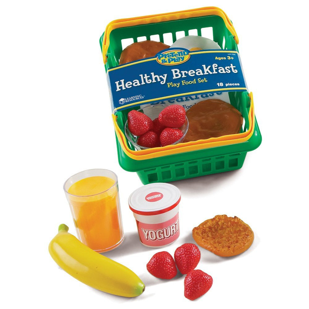 Learning Resources Pretend and Play Healthy Breakfast Basket