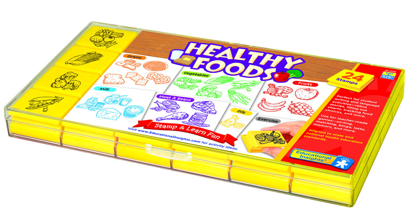 Healthy Foods Stamp Set