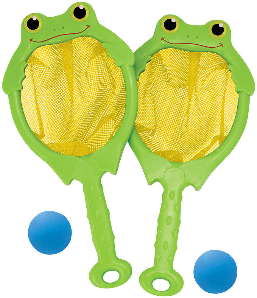 Melissa & Doug Froggy Toss and Catch Net and Ball
