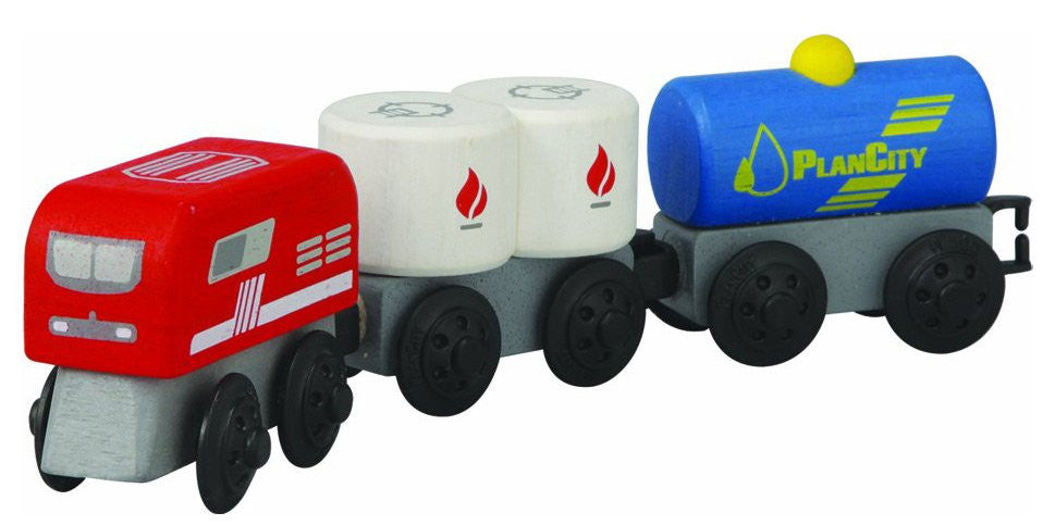 Plan Toys Fuel Train