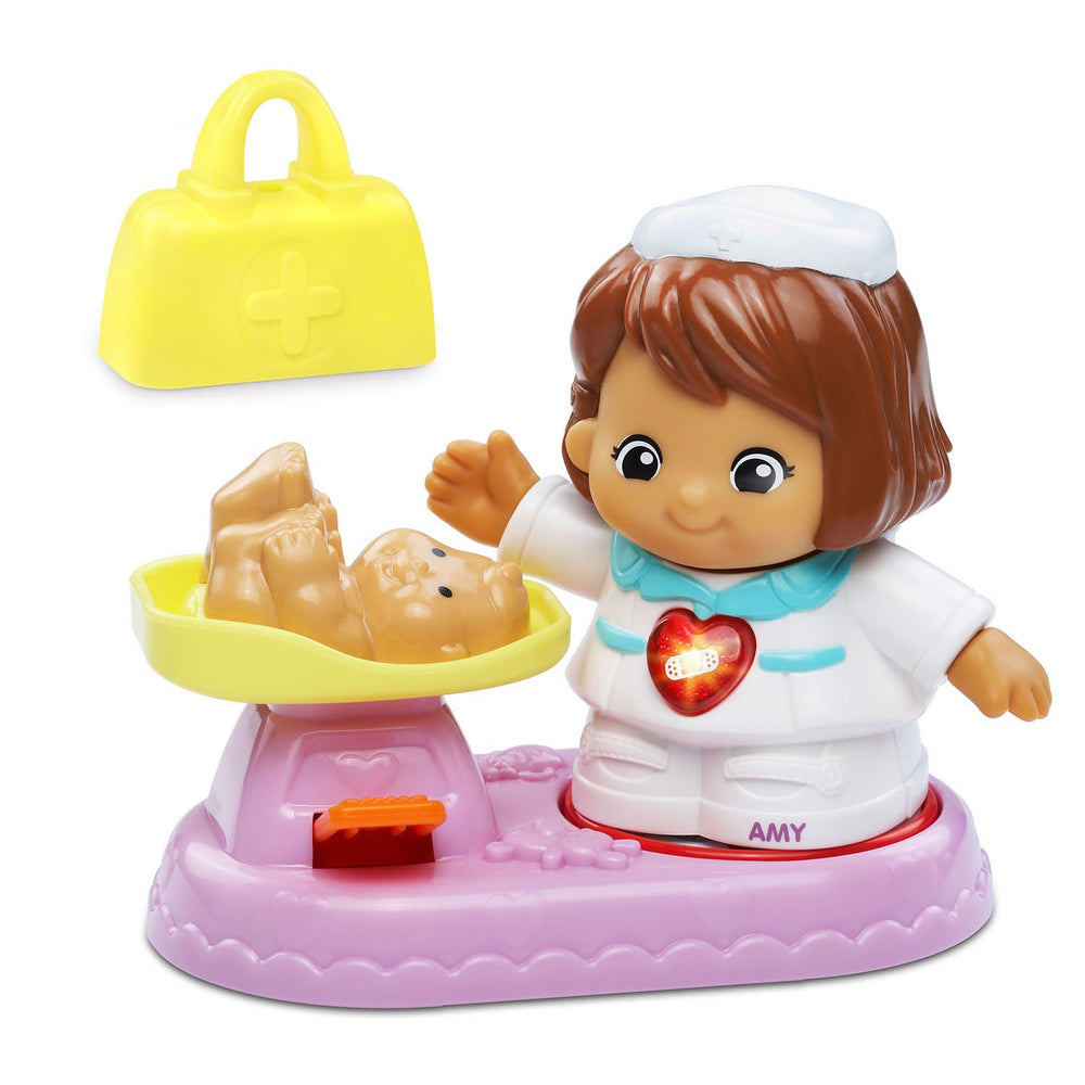 Vtech Go! Go! Smart Friends Nurse Amy & Patient Care Set