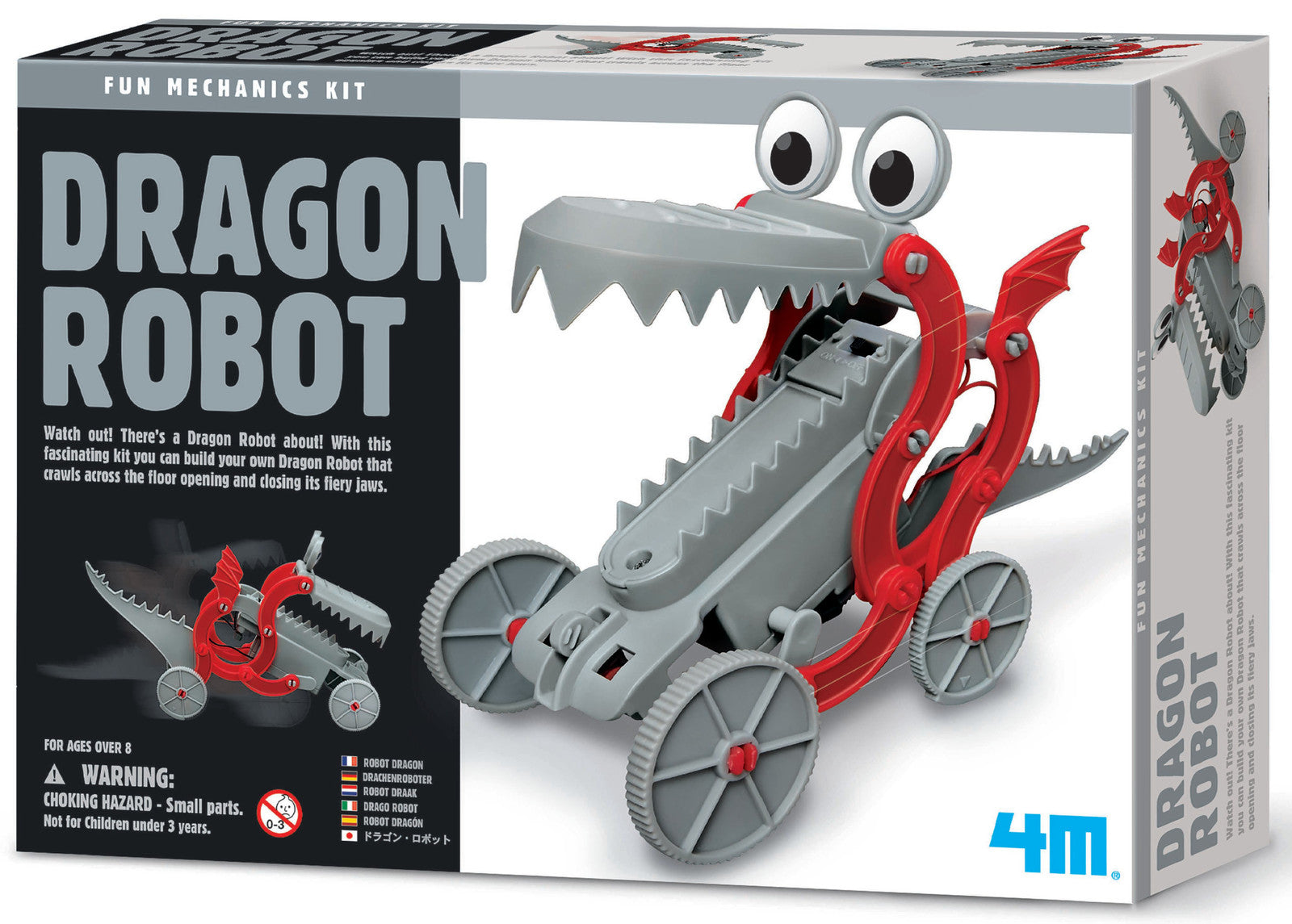 4M Fun Mechanics Dragon Robot