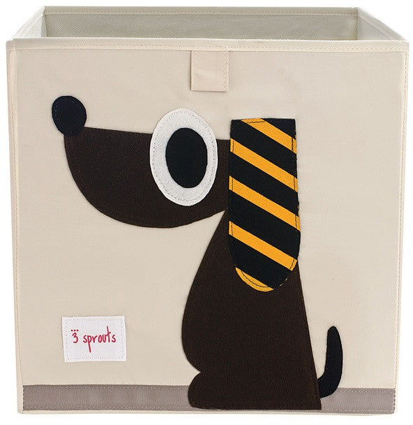 3 Sprouts Storage Box - Dog
