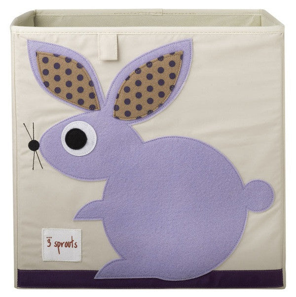 3 Sprouts Storage Box - Rabbit